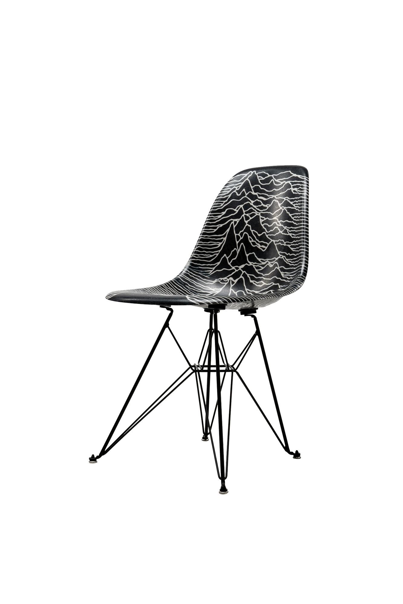 Modernica Shell Chair x Joy Division Nero