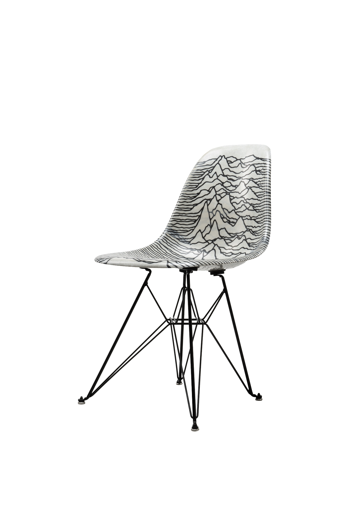 Modernica Shell Chair x Joy Division Bianco