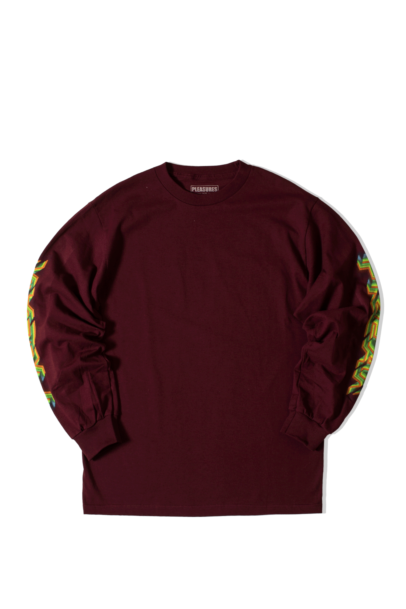 FREAK LONG SLEEVE T-SHIRT Rosso