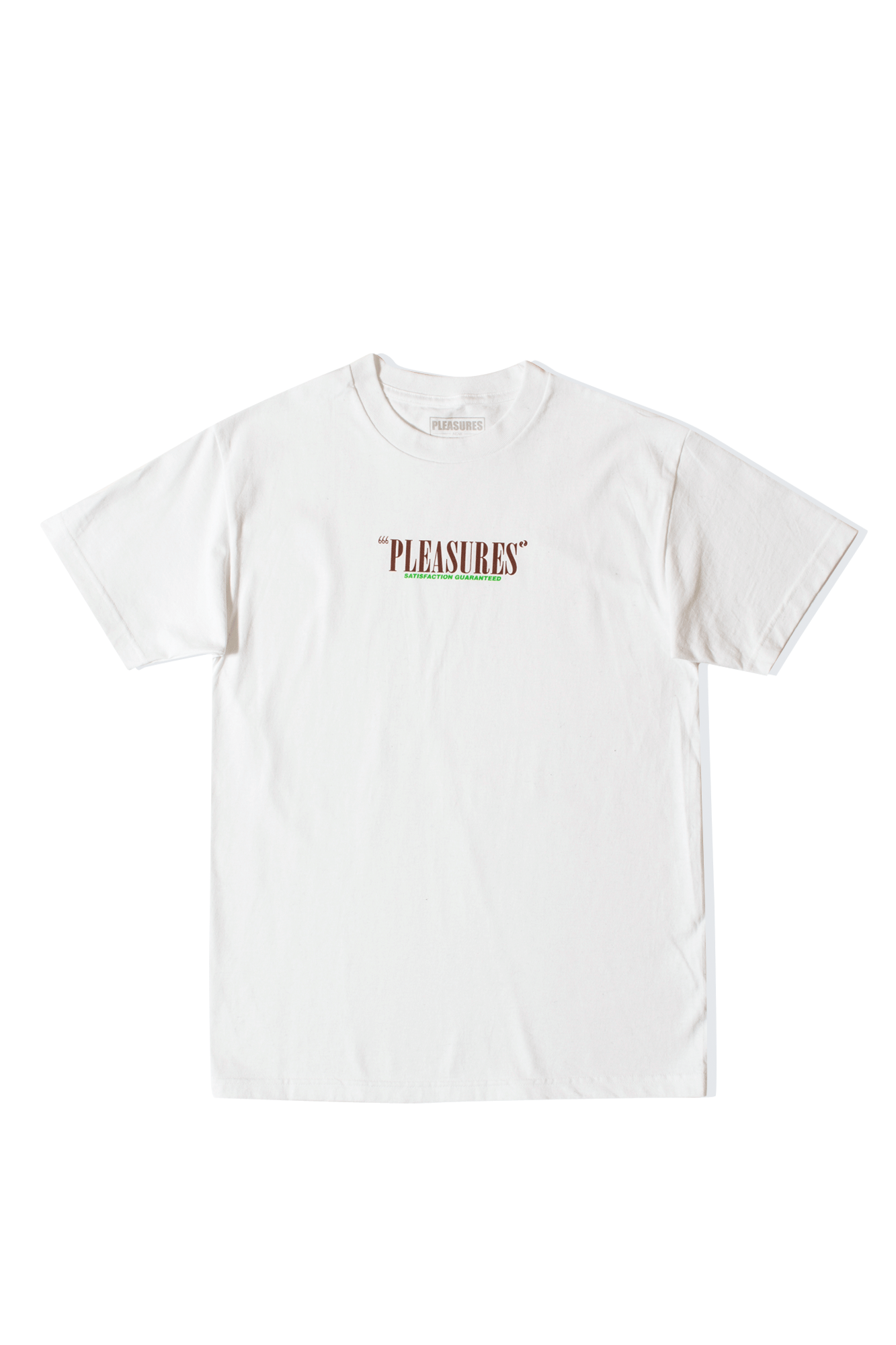 SATISFACTION GUARANTEED T-SHIRT Bianco