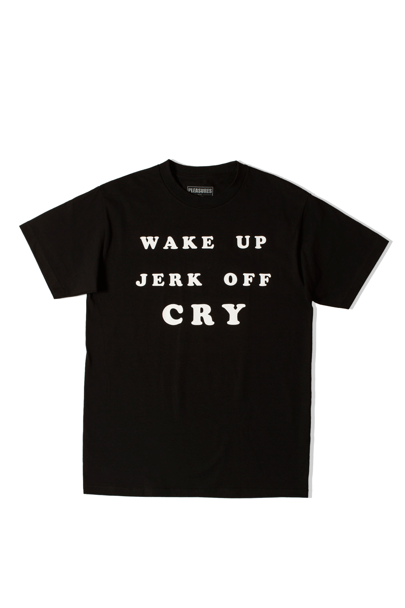 WAKE UP T-SHIRT Nero
