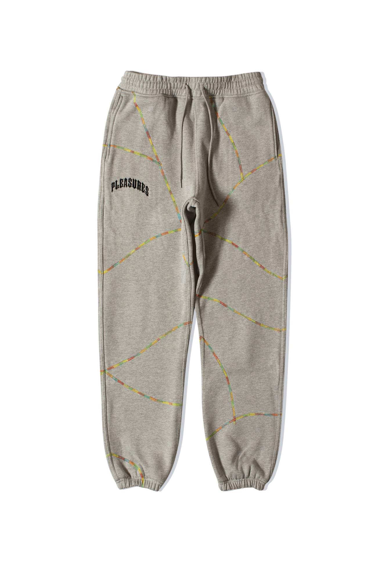 Destroyer Contrast Stitch Sweatpant Grigio