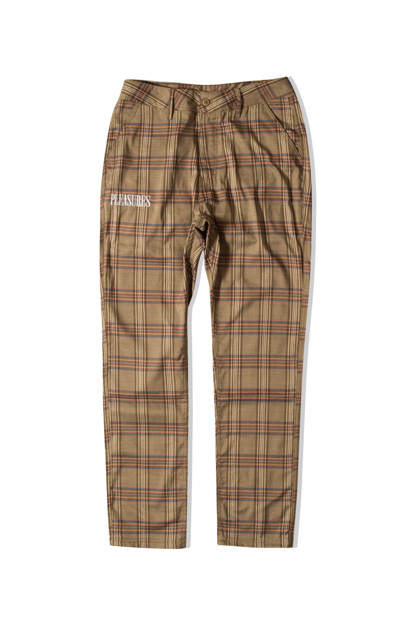 Orchestra Plaid Pant Marrone