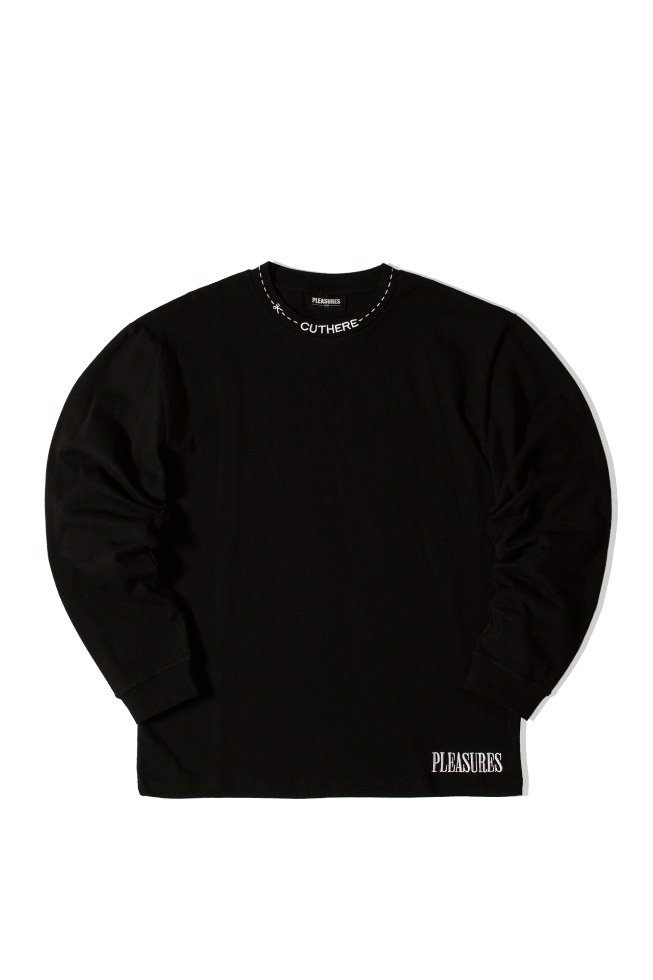Cut Here Heavyweight L/S Shirt Nero