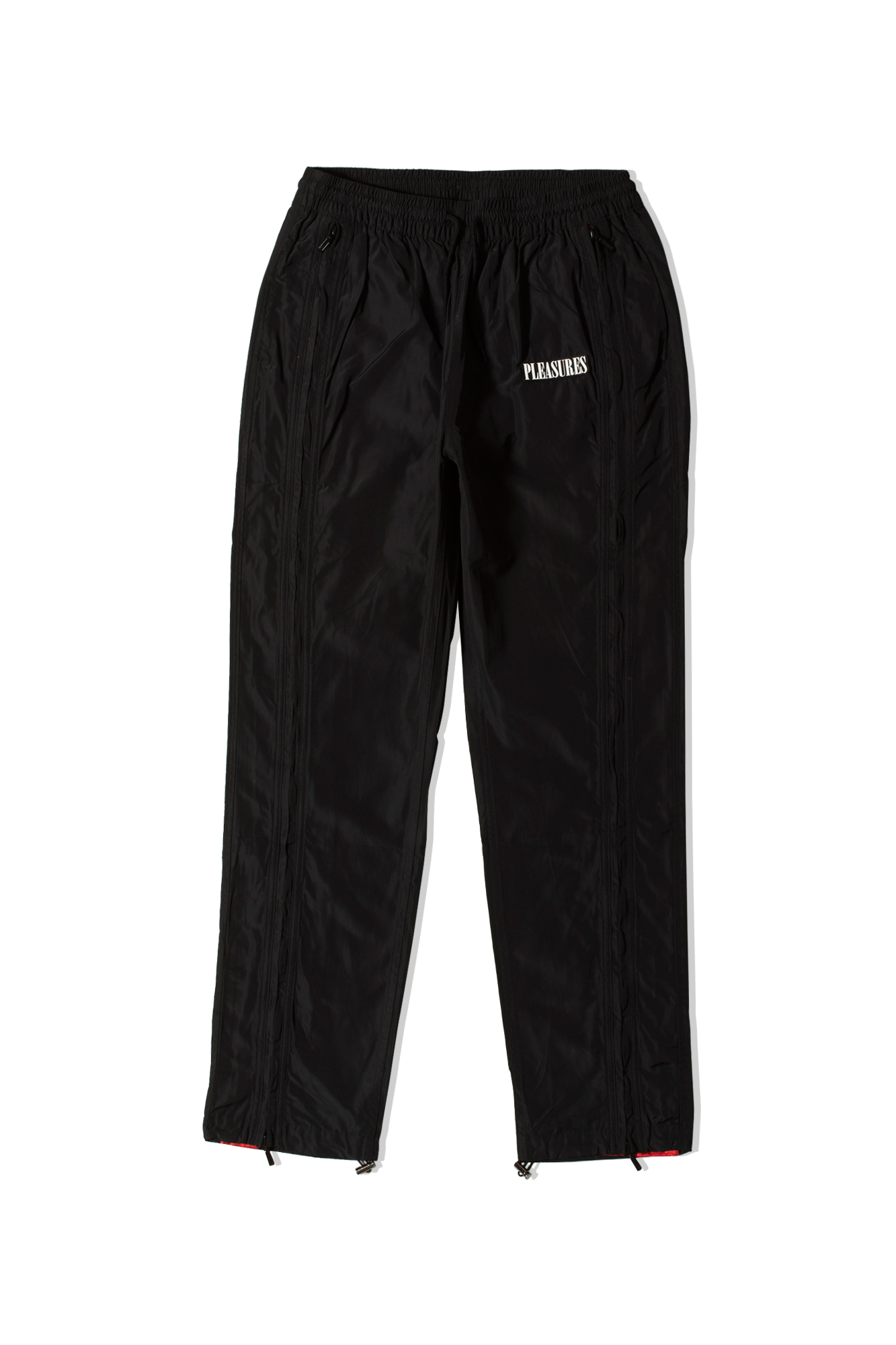 Blast Side Zip Track Pant Nero