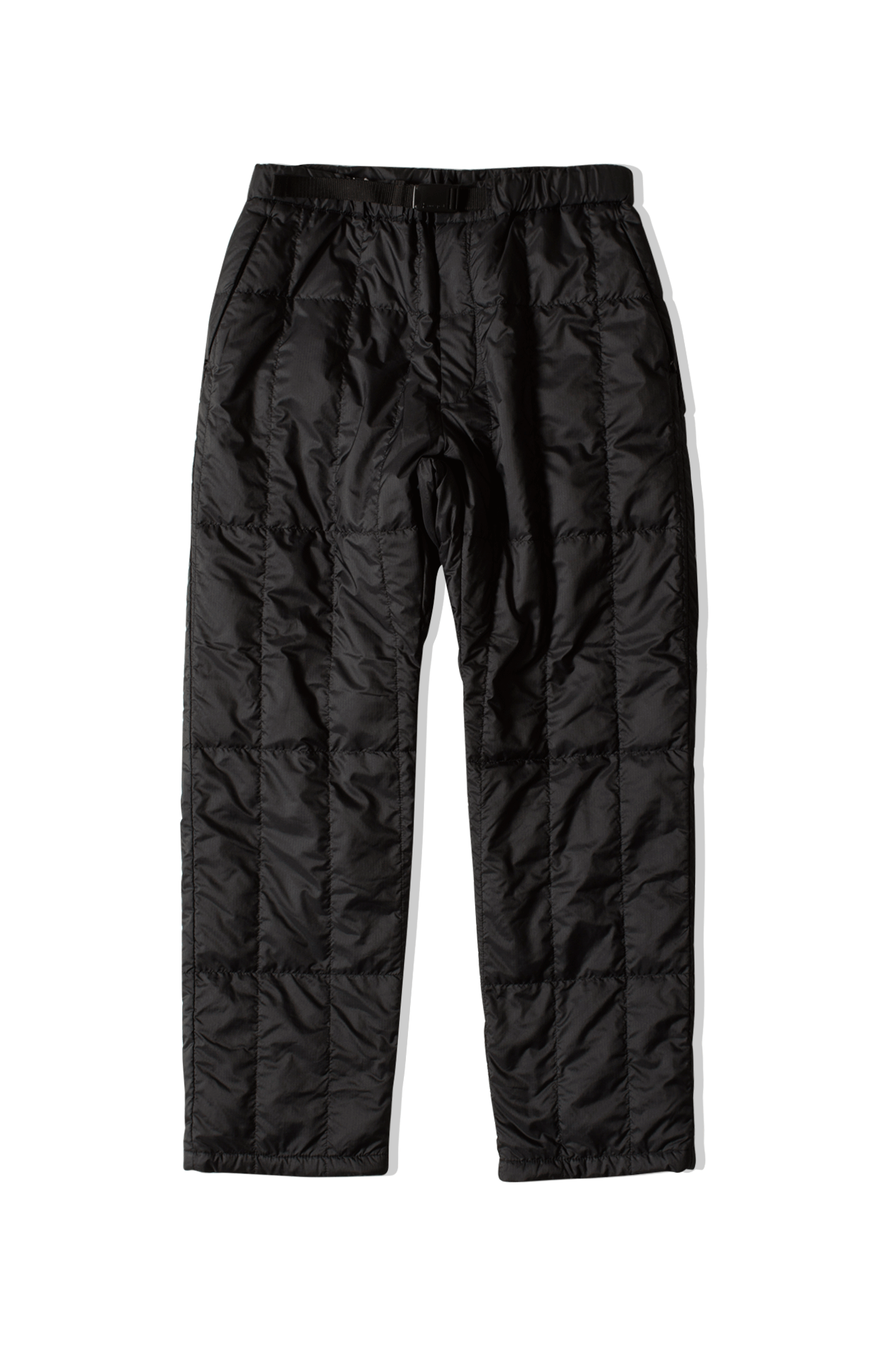 Recycled Middle Down Pant Nero