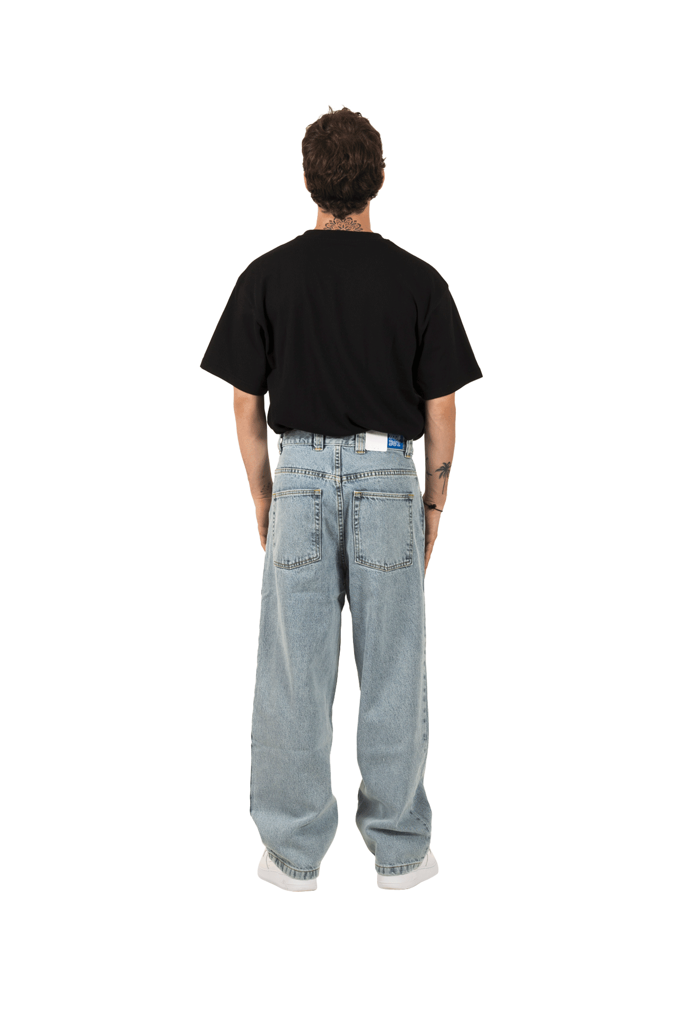 Polar Jeans Big Boy Jeans Blu POL-BIGBOY#LBLUE#LBLUE#S - One Block Down