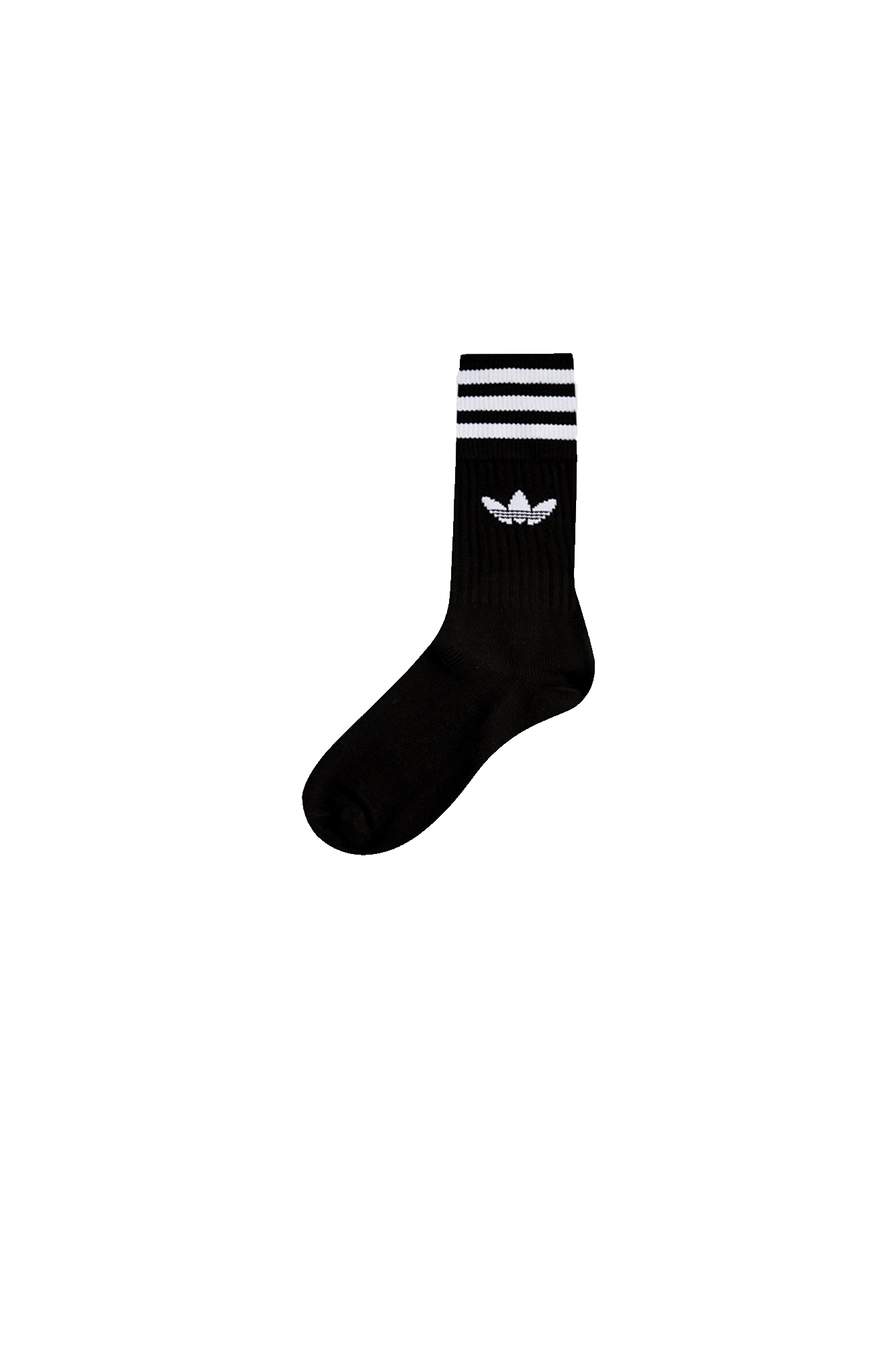 Adidas Originals Calzini Solid Crew Sock Nero S21490#000#BLK#43-46 - One Block Down