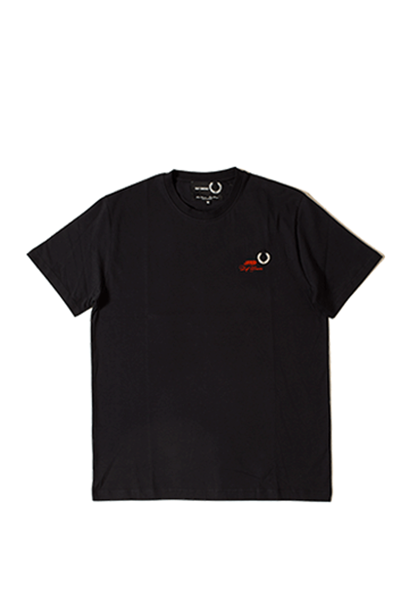 Fred Perry T-Shirts T-Shirt x Raf Simons Blu SM8130#000#608#M - One Block Down