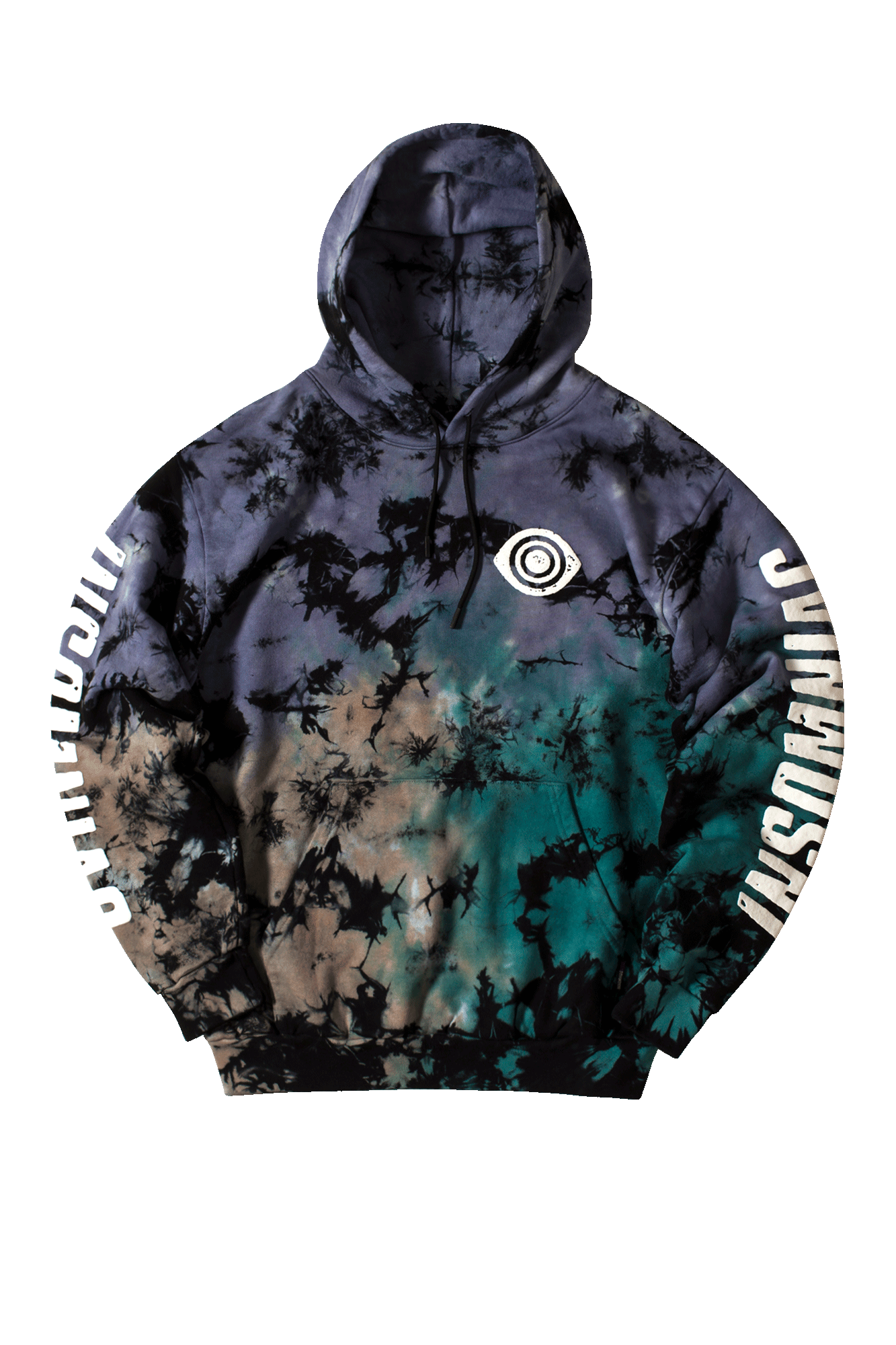 Exstatic Hooded Sweatshirt Multicolore