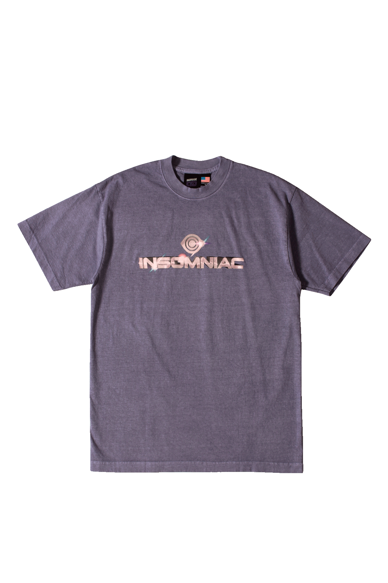 Insomniac LTD T-Shirts Cromeo T-Shirt Viola SP20MSST#0360#LVN#M - One Block Down