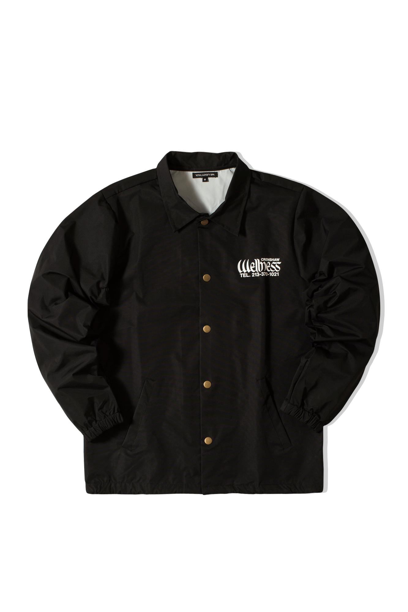 Crenshaw Wellness Life Coach Jacket Nero
