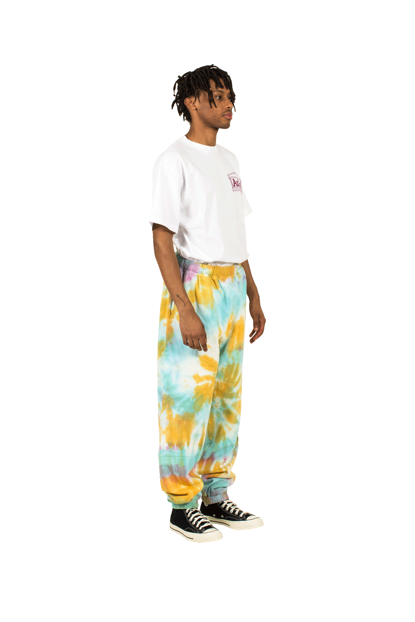 No Problemo Tie Dye Sweatpants Multicolore
