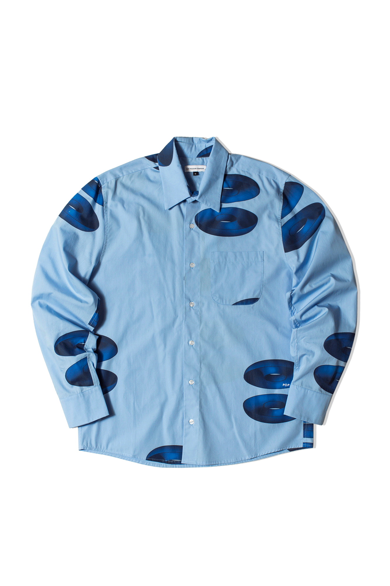 Thomas Van Rijs Shirt Blu