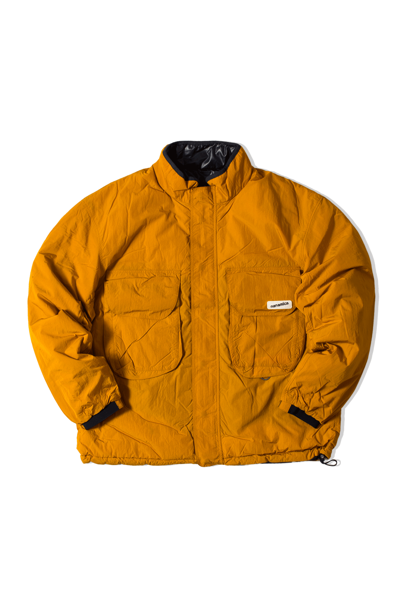 NANAMICAN REVERSIBLE INSULATION JACKET Arancione