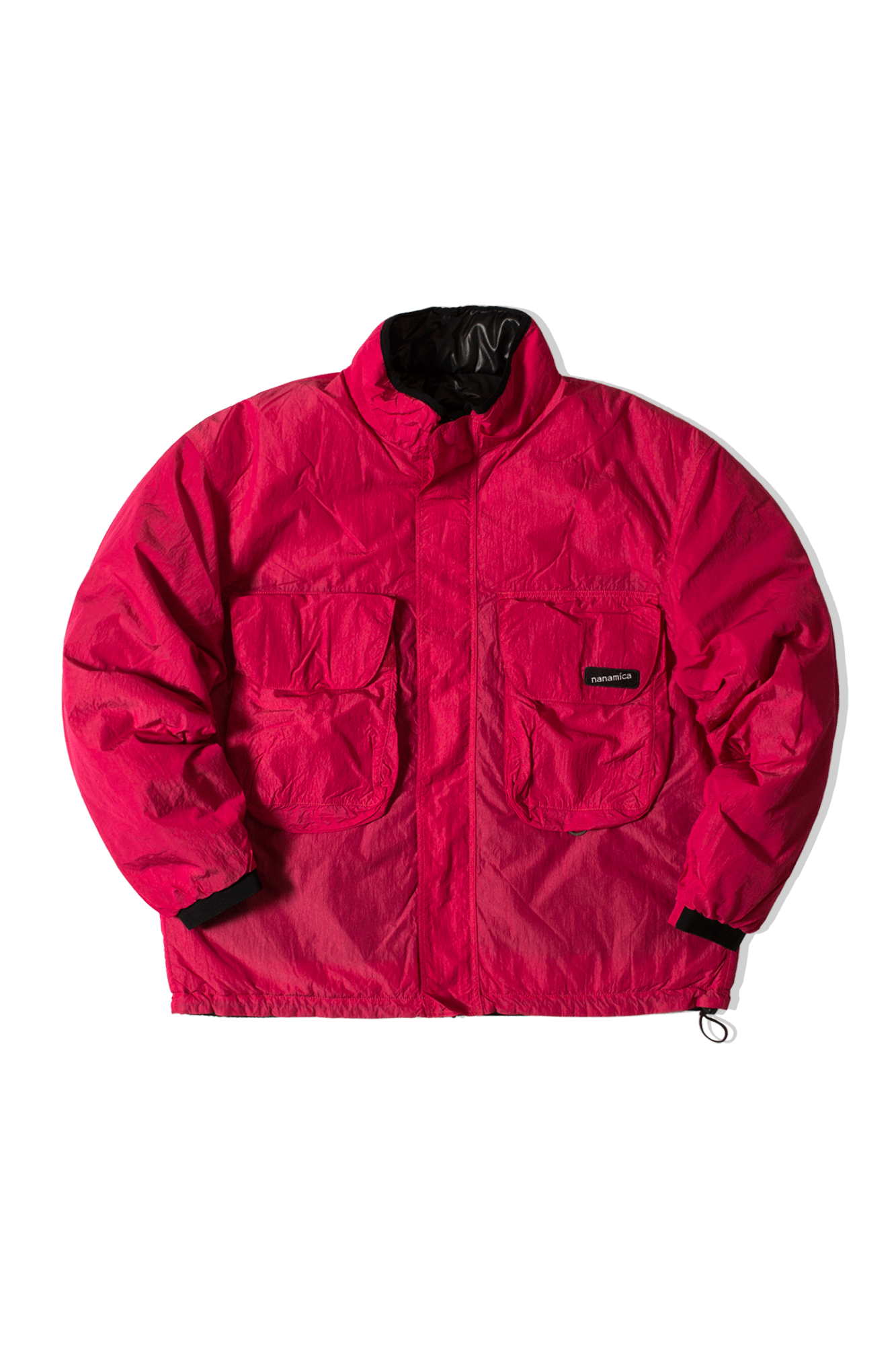 NANAMICAN REVERSIBLE INSULATION JACKET Rosa