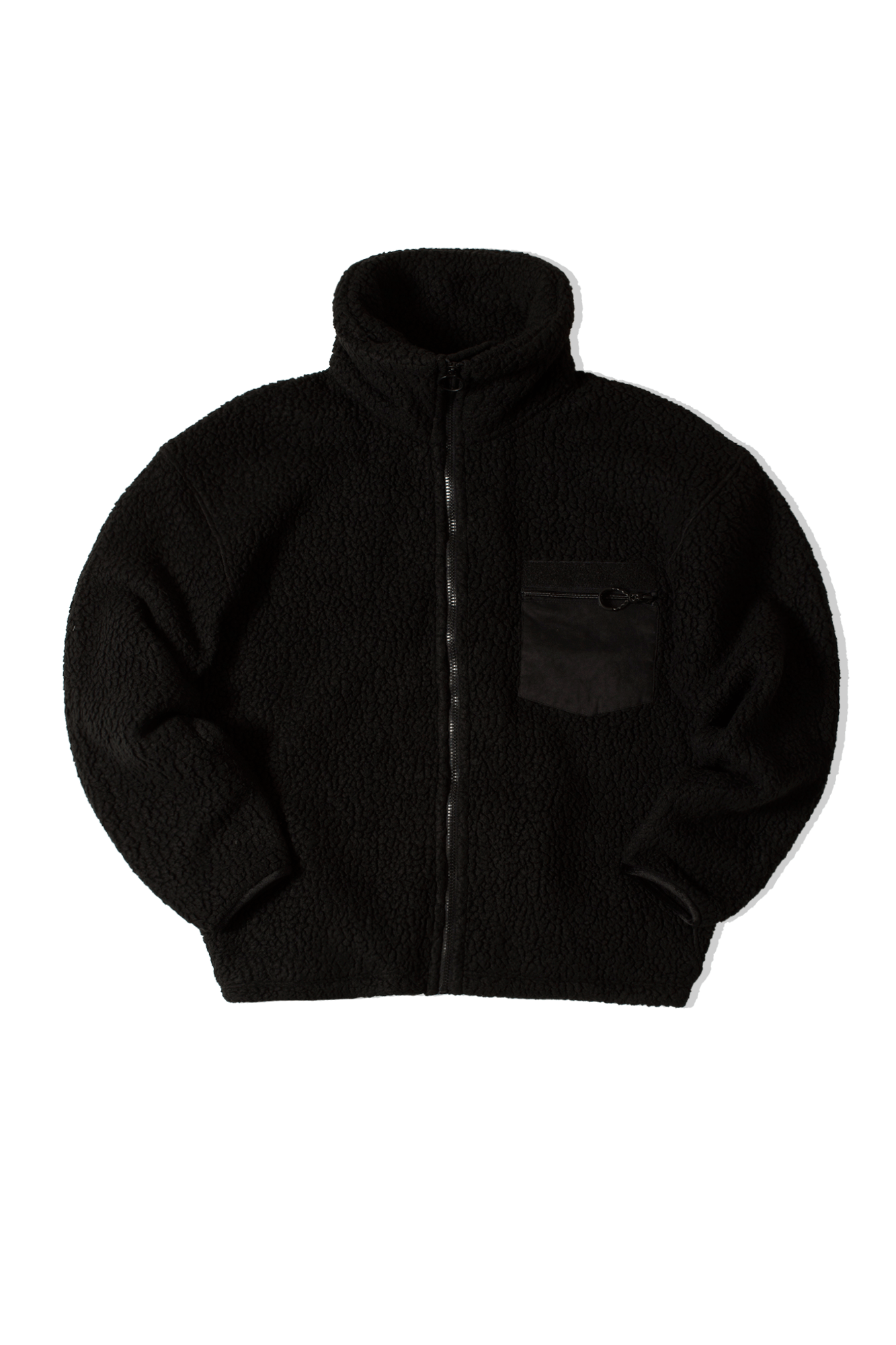 FLEECE JACKET Nero