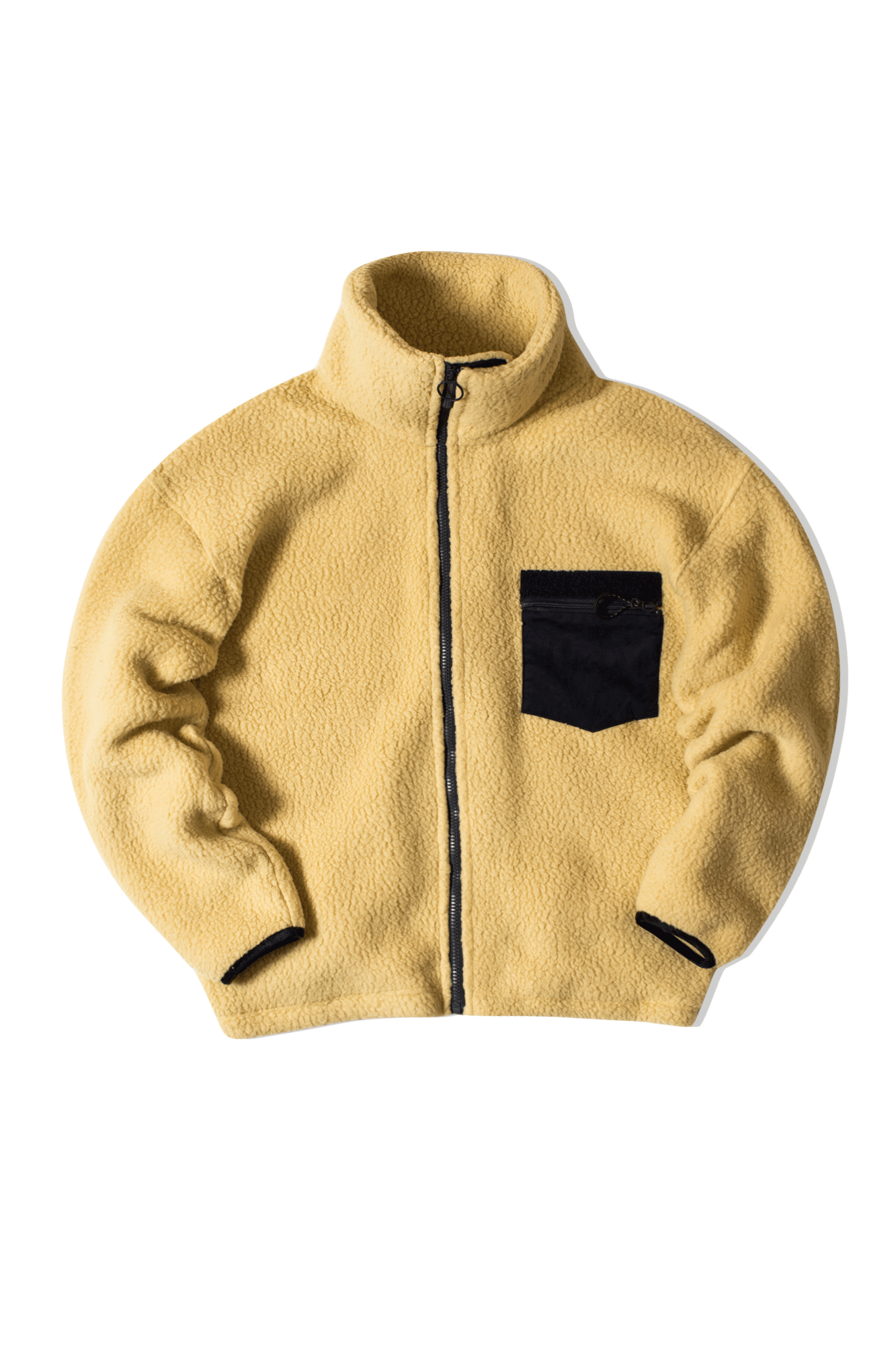 FLEECE JACKET Giallo
