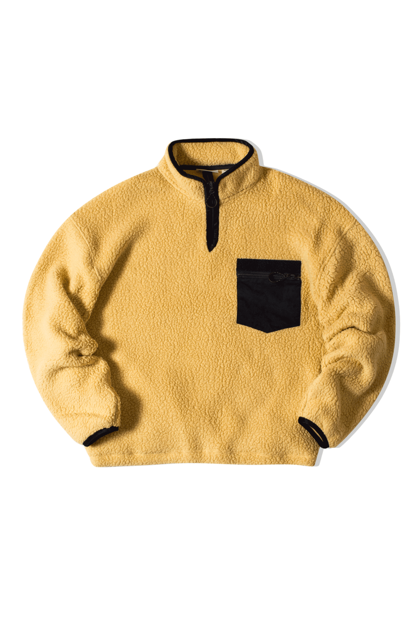 FLEECE PULLOVER Giallo