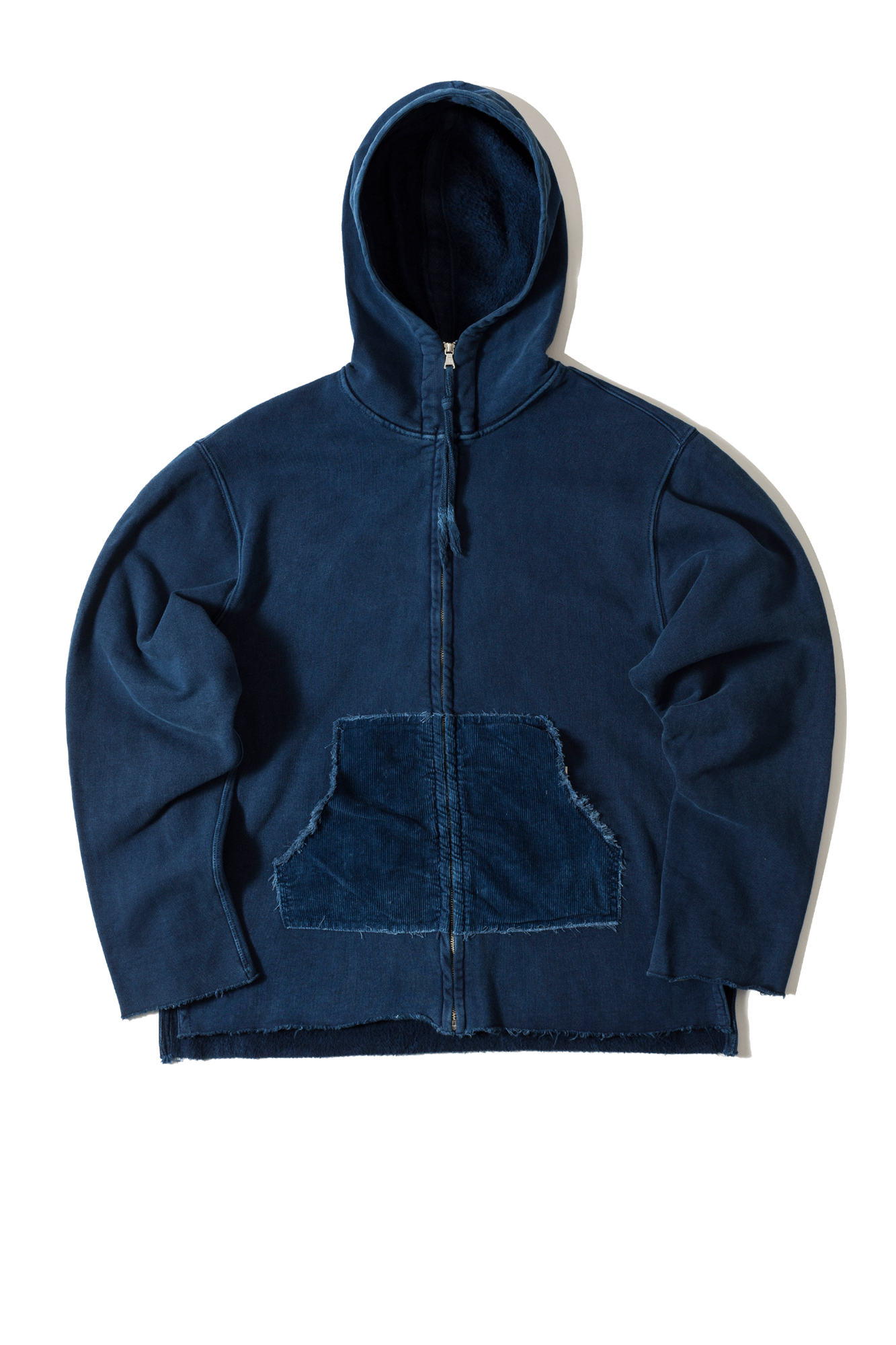 Dr. Collectors Felpe N1 Hood Heavy Fleece Blu SWEATN1#000#INDIGO#L - One Block Down