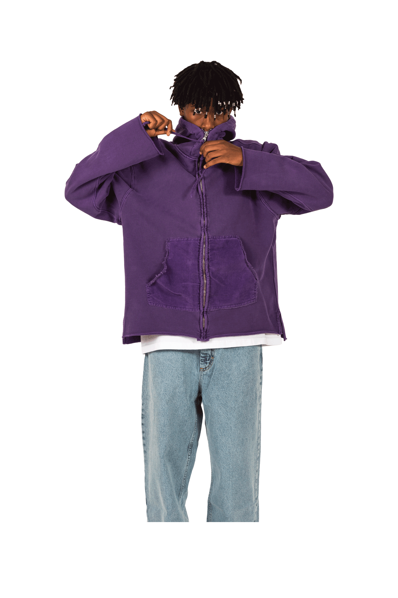Dr. Collectors Felpe N1 Hood Heavy Fleece Viola SWEATN1#000#PURPLE#S - One Block Down