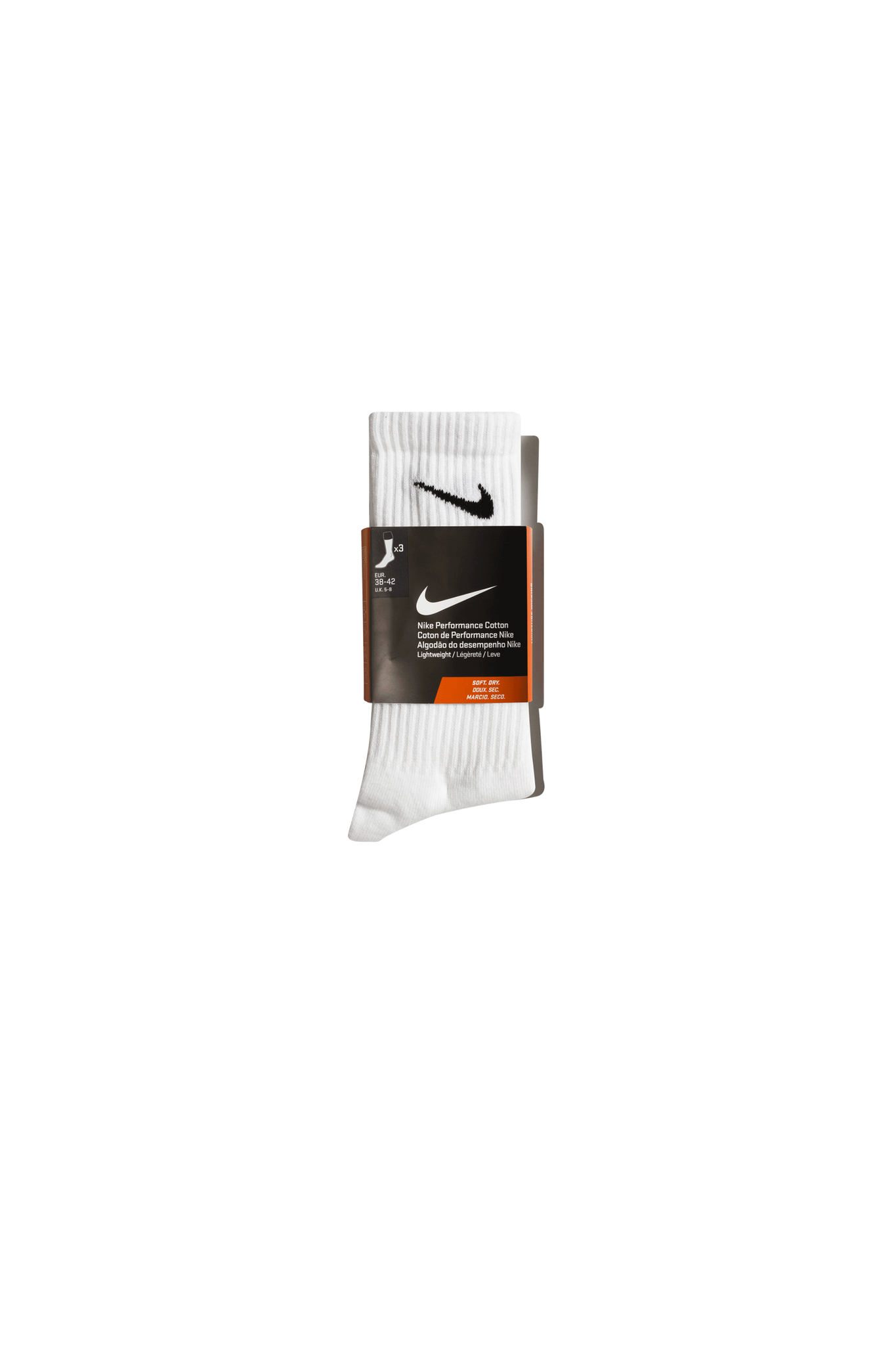 Perfect Lightweight Crew Training Sock Bianco