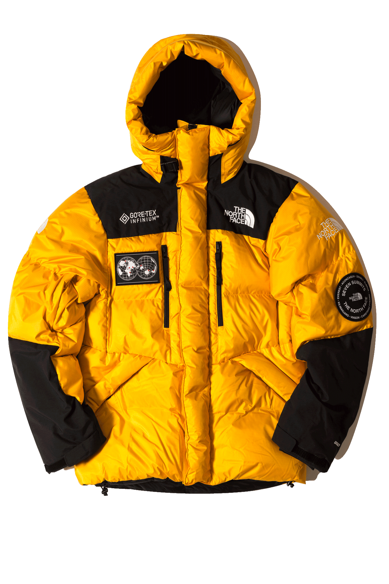 The North Face Giacche & Cappotti 7SE Himalayan Parka GTX Giallo T93MJB70M#000#70M#XS - One Block Down