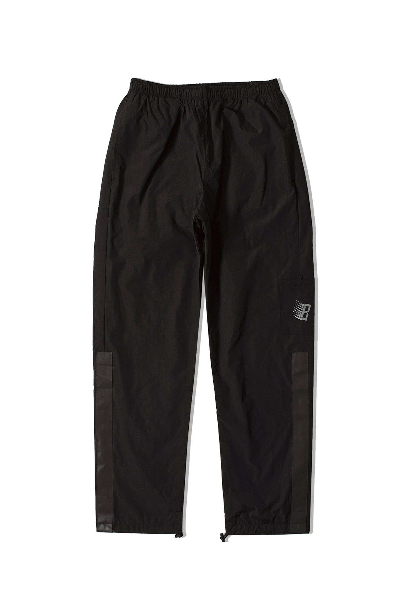 Bronze 56K Pantaloni sportivi Track Pants Nero TRACKPANT#000#NERO#30 - One Block Down