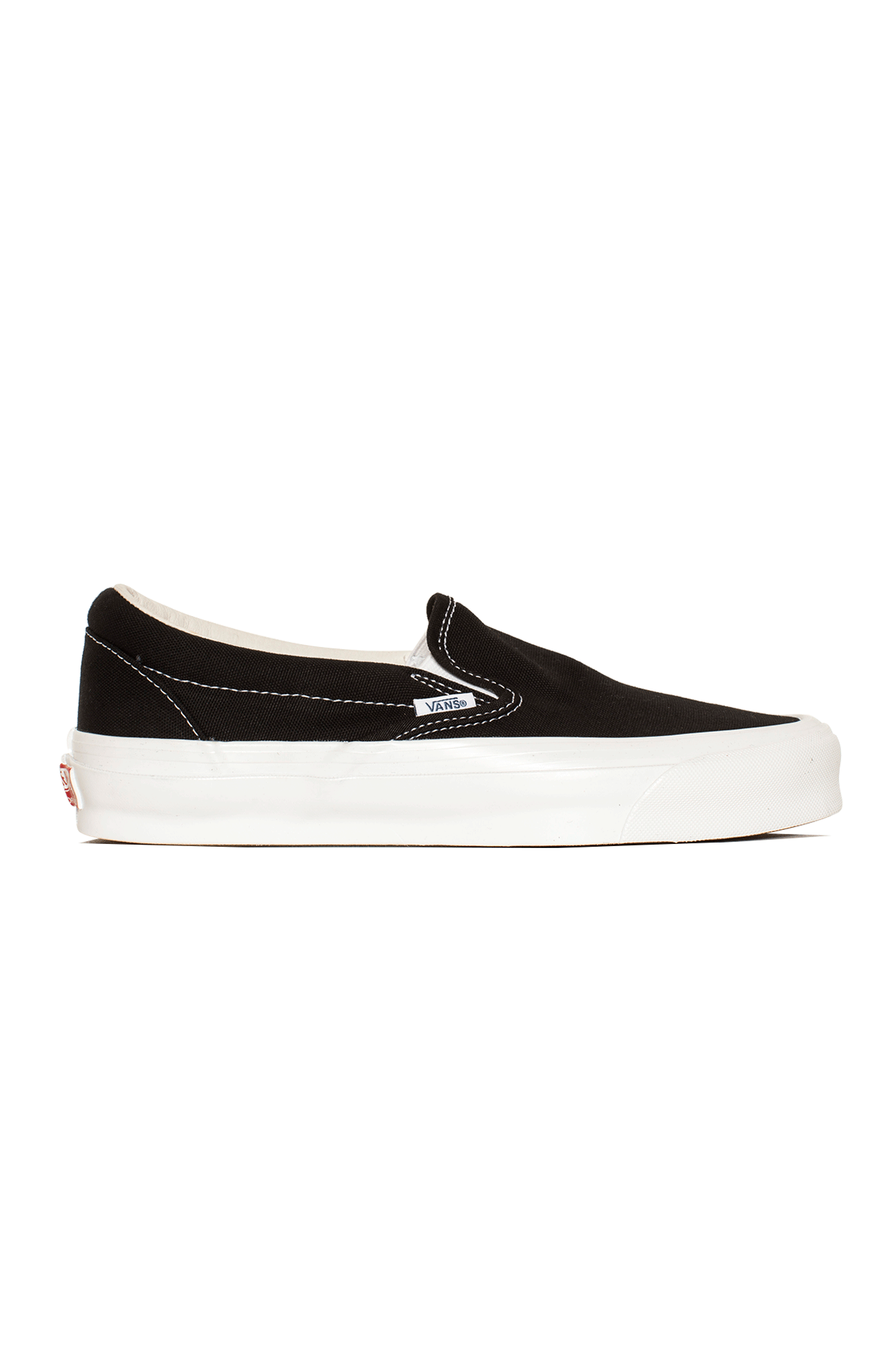 Vans Sneakers OG Classic Slip-On LX Nero VN0A45JKA#000#1WX1#4,5 - One Block Down