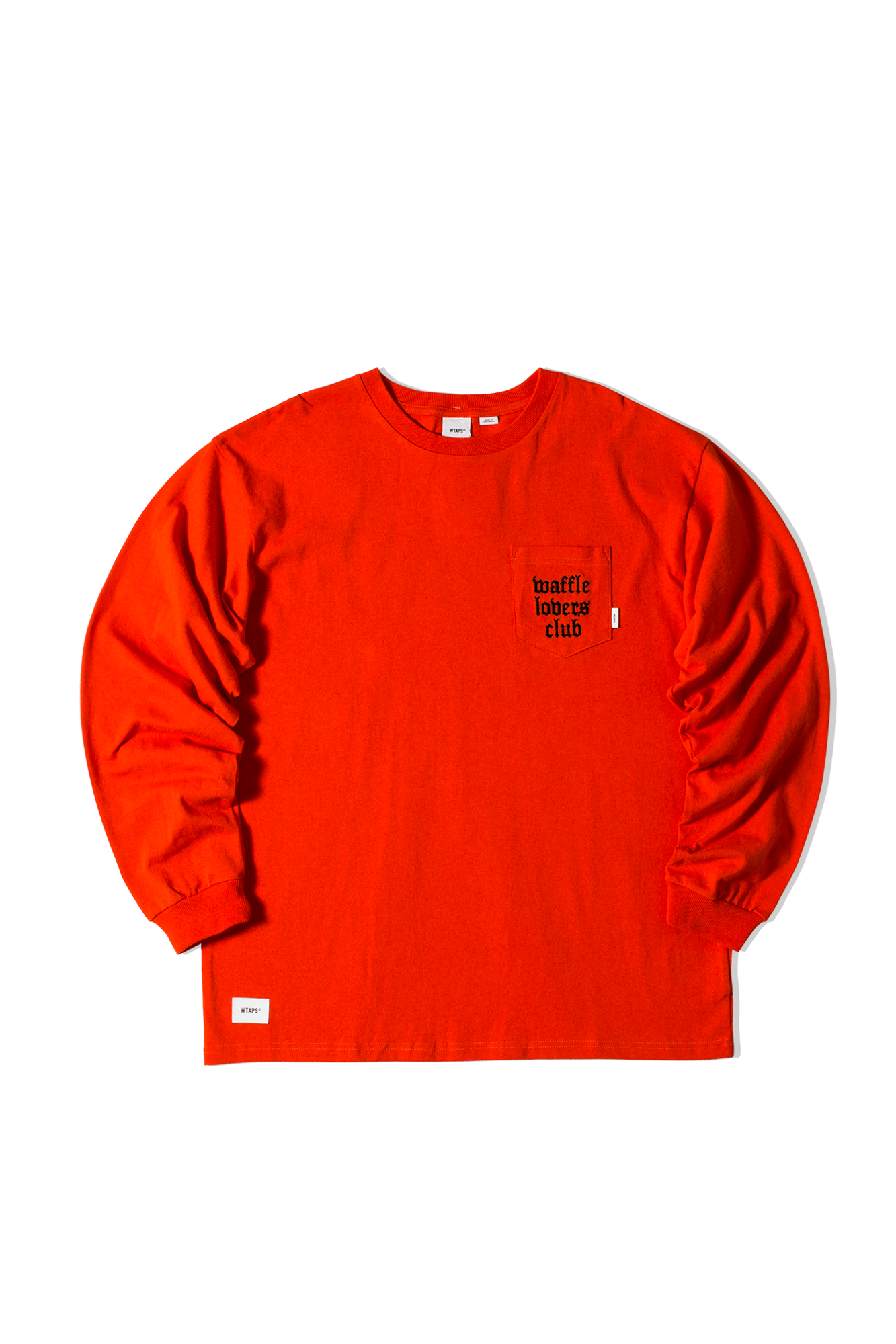 Long Sleeve x WTAPS Arancione