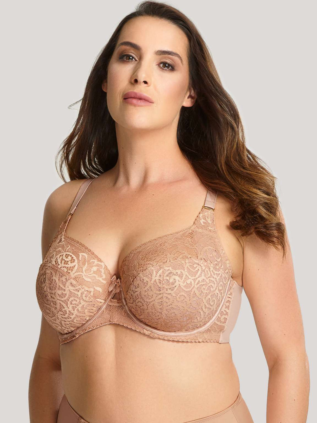 Sculptresse by Panache Estel Full Cup Bra in Honey