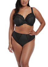 Load image into Gallery viewer, Elomi Charley Stretch Lace Plunge Bra in Black