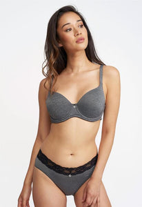 Montelle Essentials Pure Plus Full Cup T-Shirt Bra in Cloud Mix