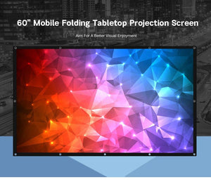 60 inches 16:9 Projector Screen