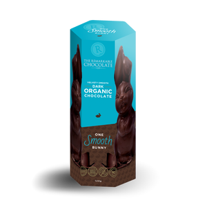 Smooth Bunny | Organic Dark 56% Cacao | Remarkable Chocolate Auckland