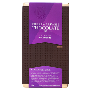 32% Cacao Pure Milk Chocolate | Remarkable Chocolate | Chocolate NZ