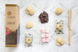 LIMITED EDITION ORGANIC Dark Chocolate Bark S'MORES KIT