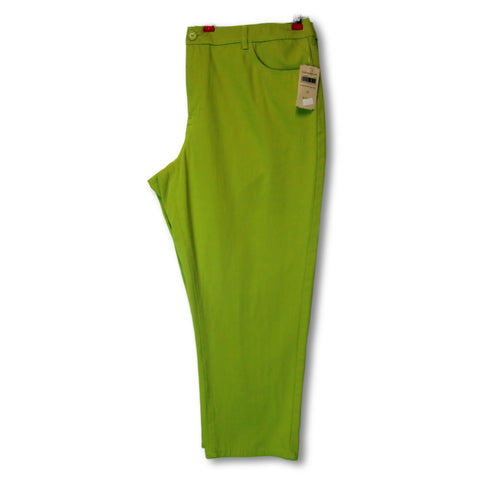 new Coldwater Creek ladies green capri pants
