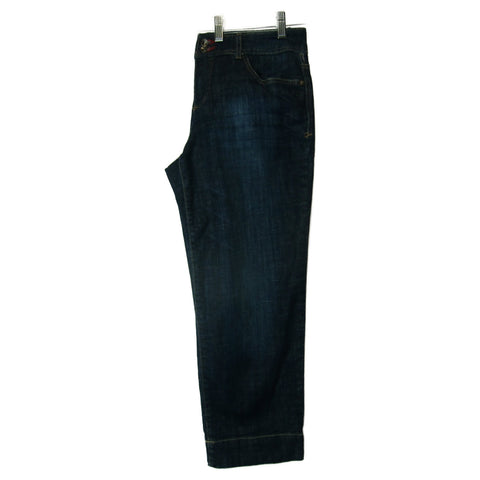 Tommy Hilfiger used ladies blue denim jeans