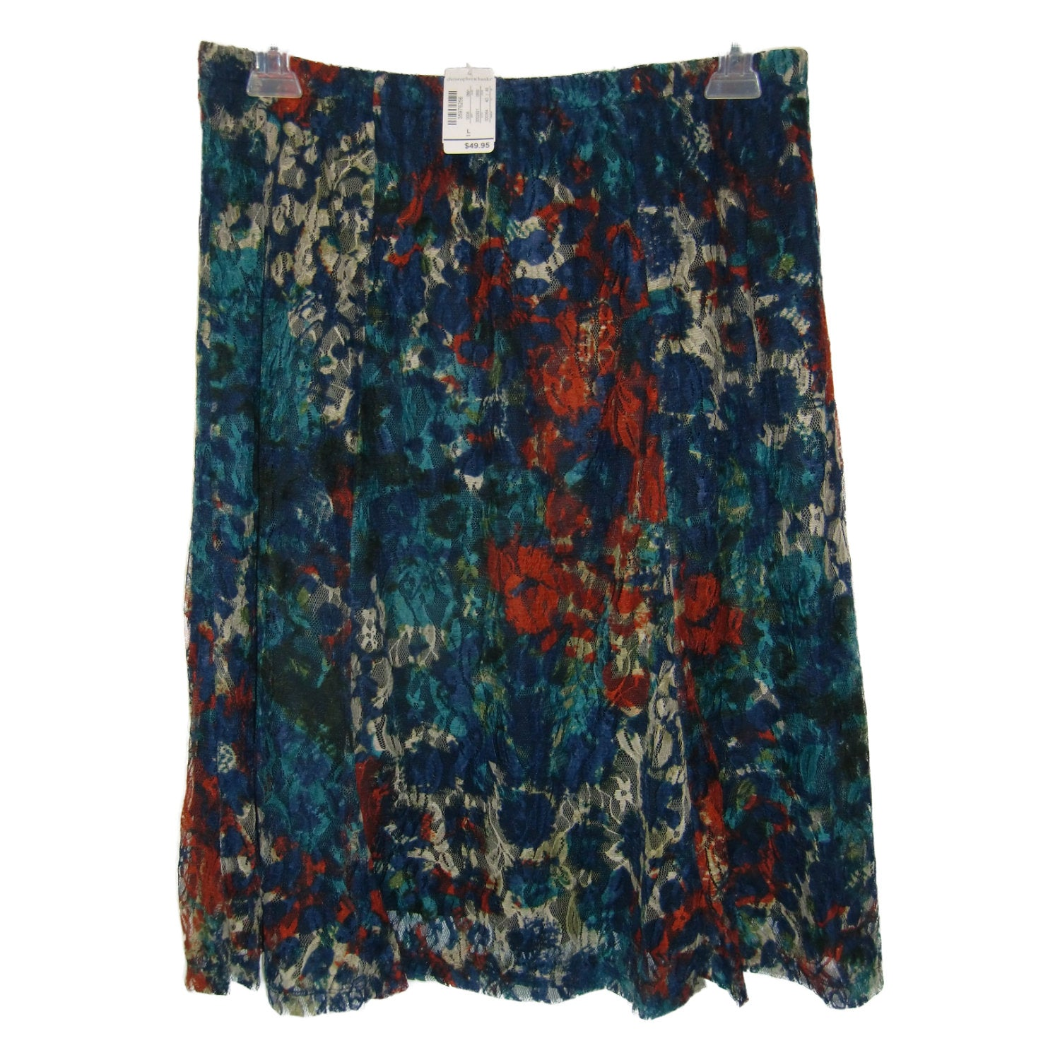 new Christopher & Banks multicolored skirt