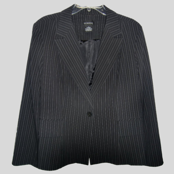 used ladies black business blazer