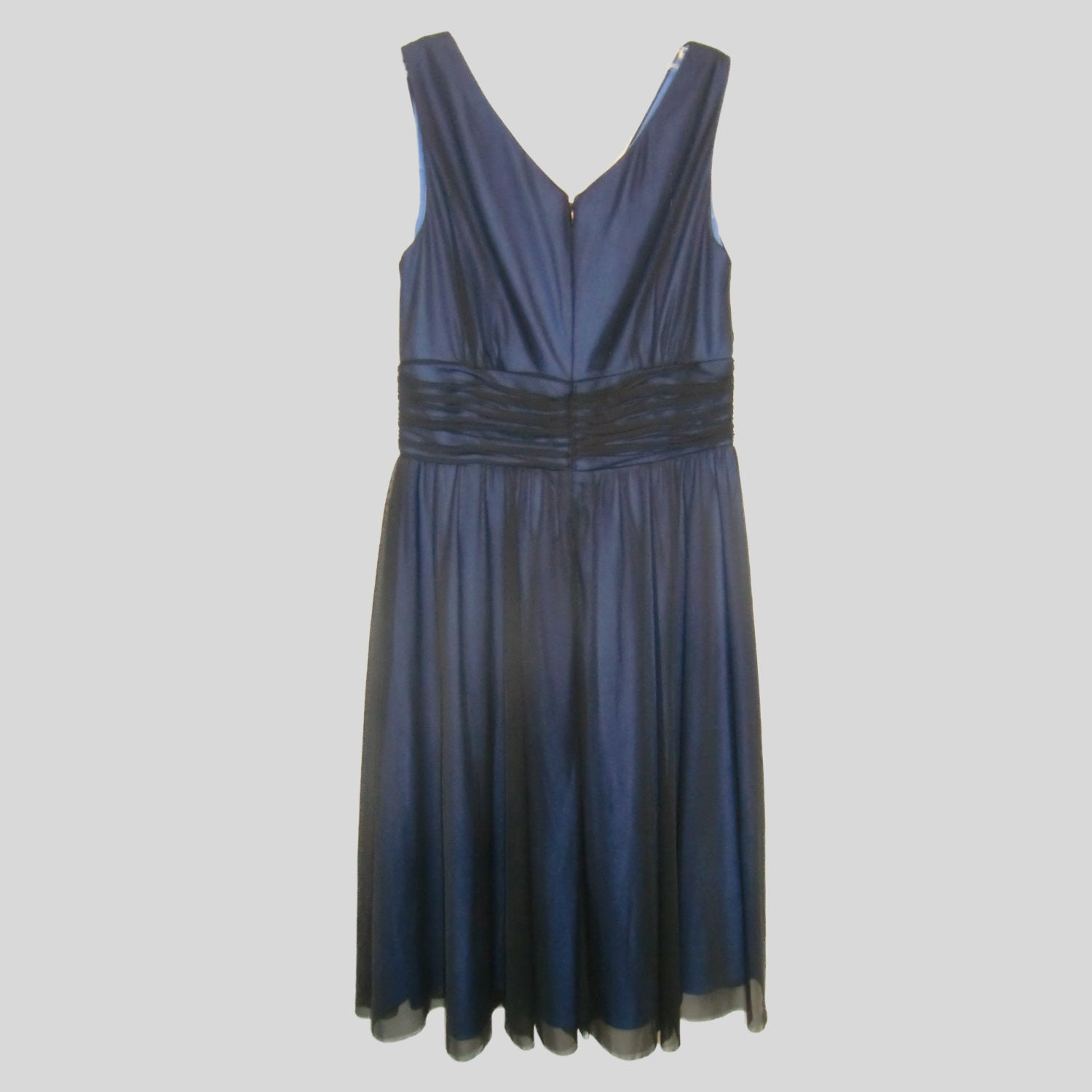 used ladies blue evening dress