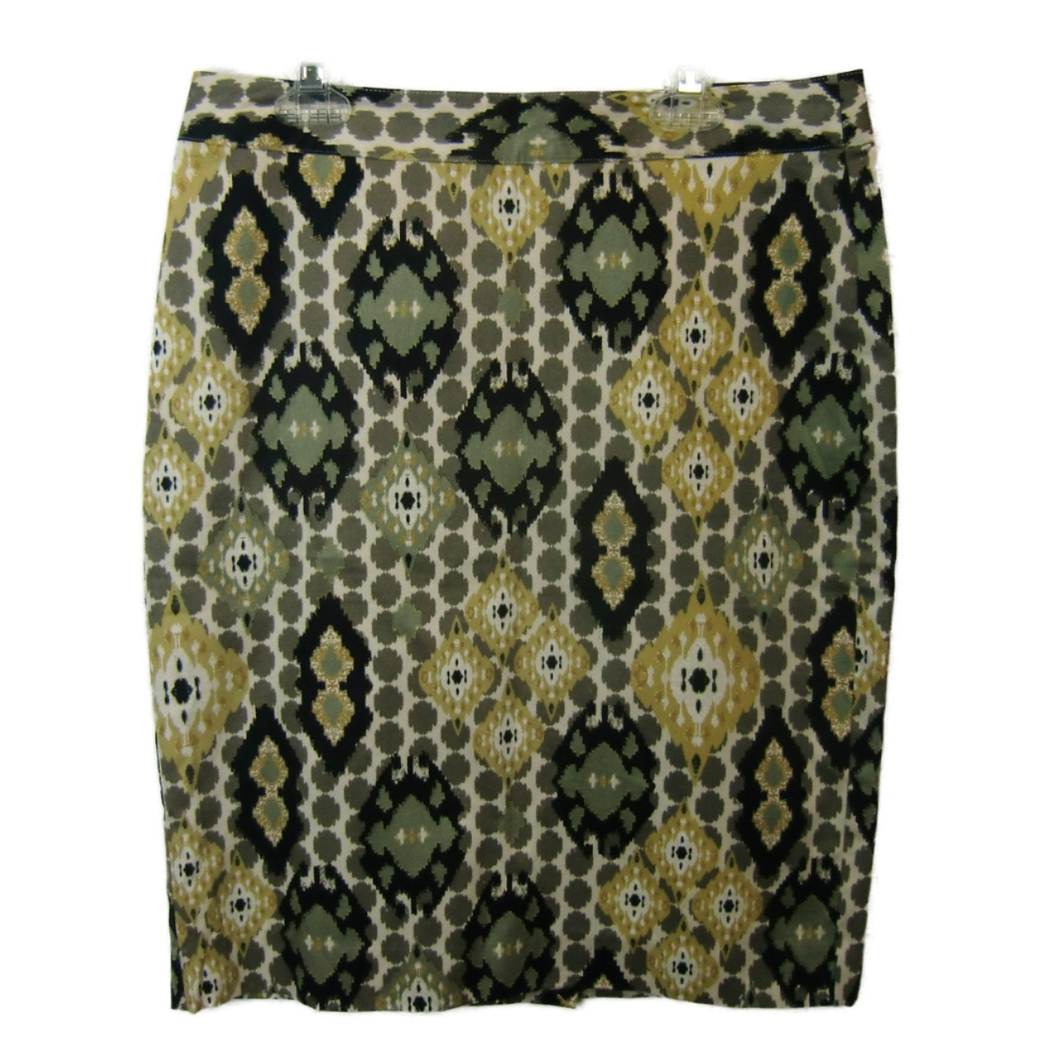 new Van Heusen ladies black and green skirt