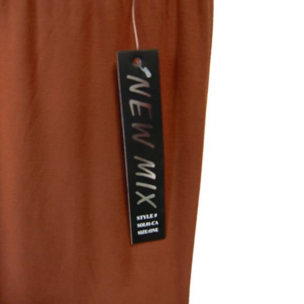 new NEW MIX ladies brown capri leggings