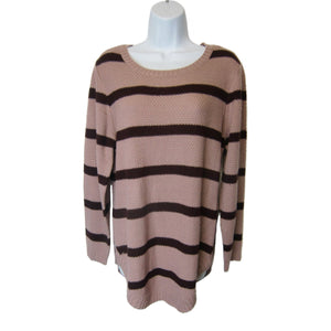 new Rue 21 ladies dusty pink sweater