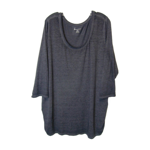 new Lane Bryant ladies gray top