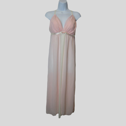 used Enchanted ladies pink lingerie nightgown