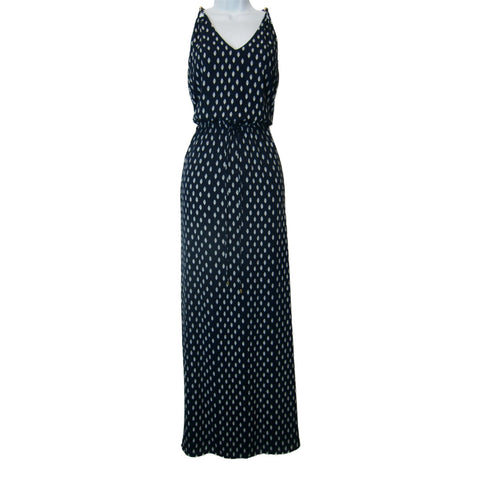 used Ivanka Trump ladies blue maxi dress