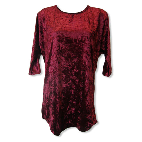 Fashion Queen ladies top in wine or green