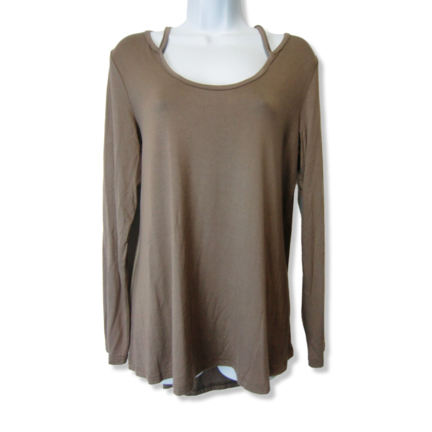 new Loveriche ladies long sleeved mocha top